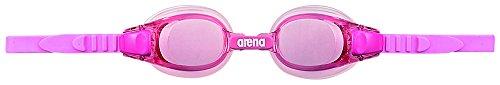 arena(アリーナ) 水泳 ゴーグル グラス ジュニア クッションタイプ フリーサイズ AGL-5100J ピンク×ピンク(PNK) くもり止め