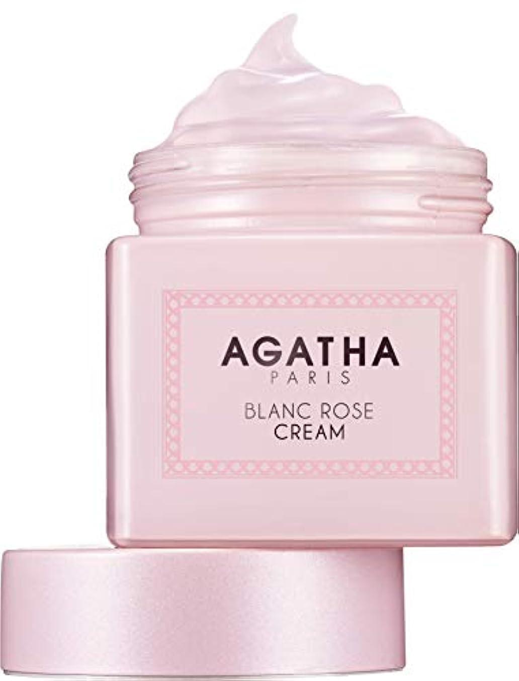 ガラガラ不条理ナサニエル区[アガタ]AGATHA ブランローズクリーム(BLANC ROSE CREAM) [並行輸入品]