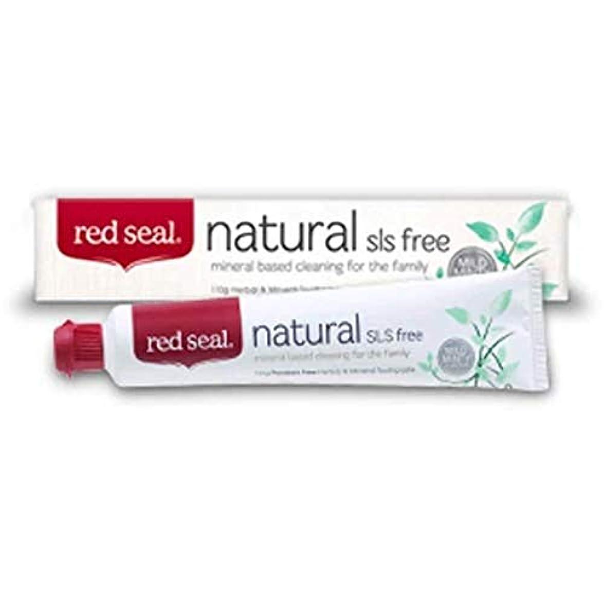 オーバーフロー道路ヒョウRed Seal Natural SLS Free Toothpaste