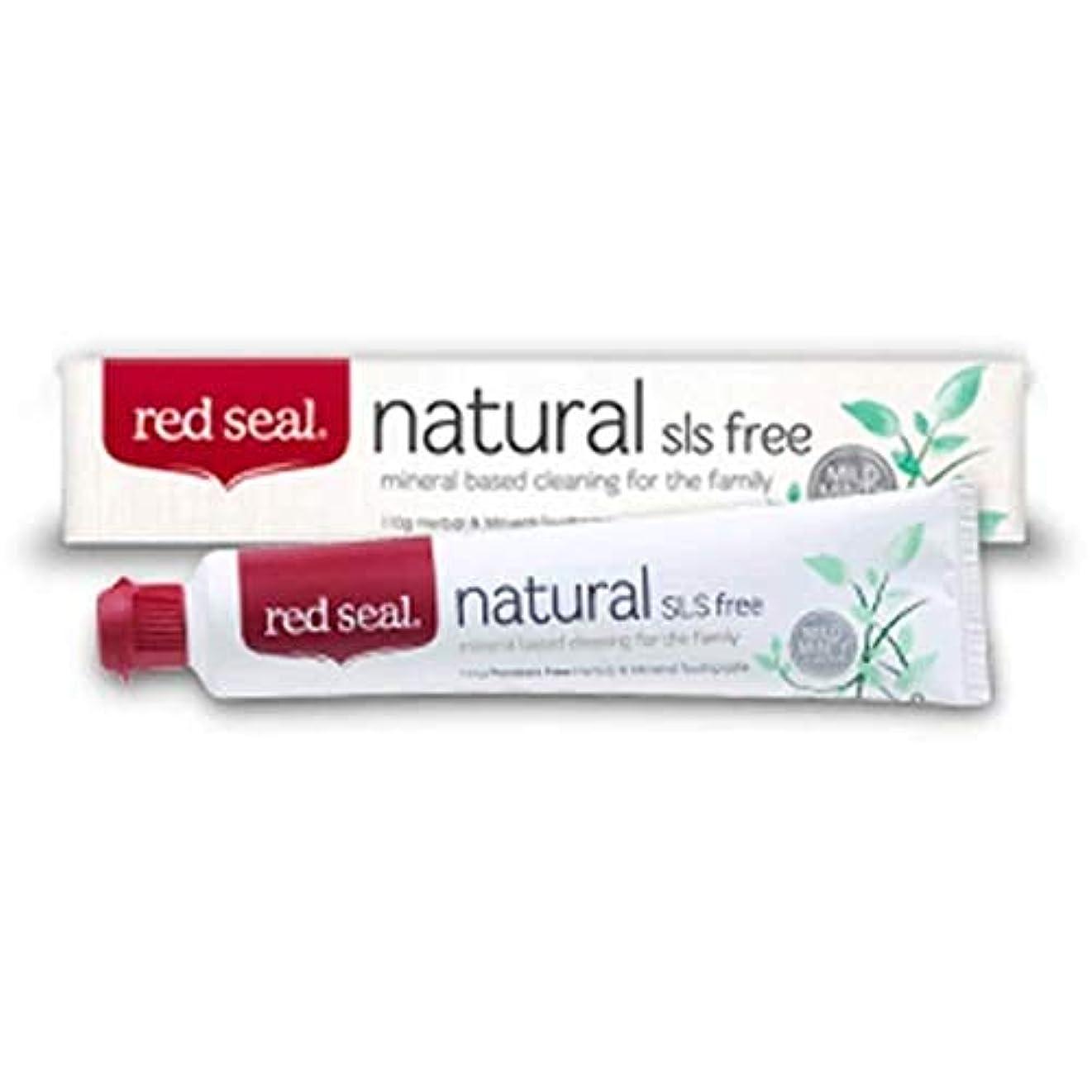 可能にする保存する不振Red Seal Natural SLS Free Toothpaste