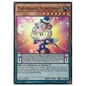 遊戯王 英語版・北米版 P PERFORMAPAL MONKEYBOARD(SR)(EMモンキーボード)