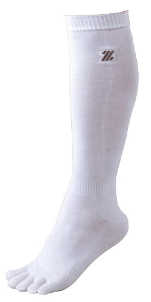 地区スキー無条件ZETT(ゼット) 少年野球 アンダーソックス BK3P5M ホワイト 21-24cm