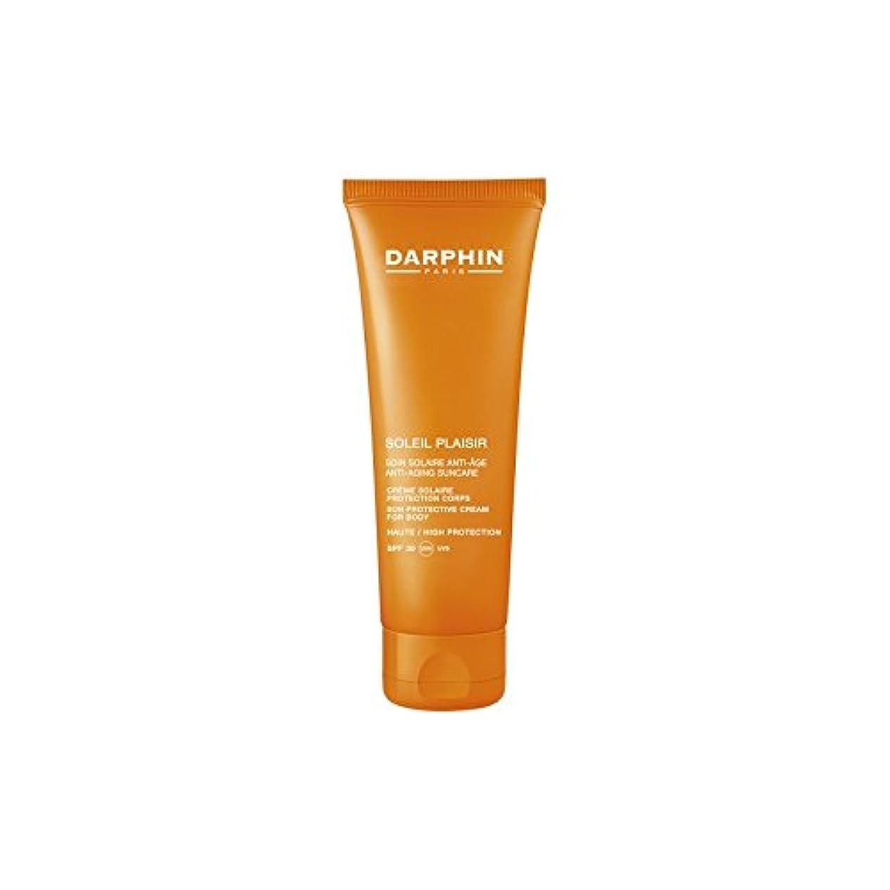 遠洋のバランスクリエイティブダルファンソレイユプレジールボディクリーム x4 - Darphin Soleil Plaisir Body Cream (Pack of 4) [並行輸入品]