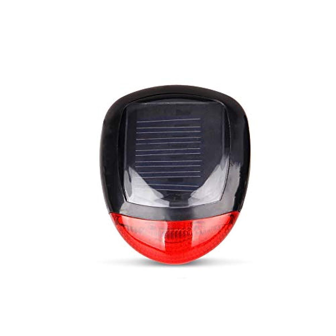 王子集団軍Onior 自転車用ソーラー充電式テールライト