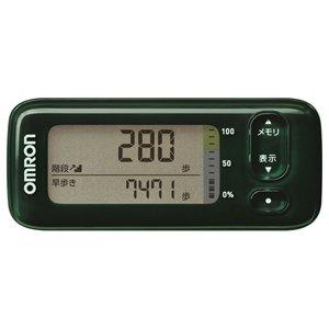 オムロン 活動量計 (グリーン)OMRON カロリスキャン HJA-405T-G