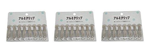 早川工業 アルミクリップリング大 8P×3個セット 131651