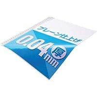 (まとめ)TANOSEE クリアファイル用リフィルA4タテ 2・4・30穴 プレーン仕上げ 1パック(100枚) 【×10セット】 〈簡易梱包