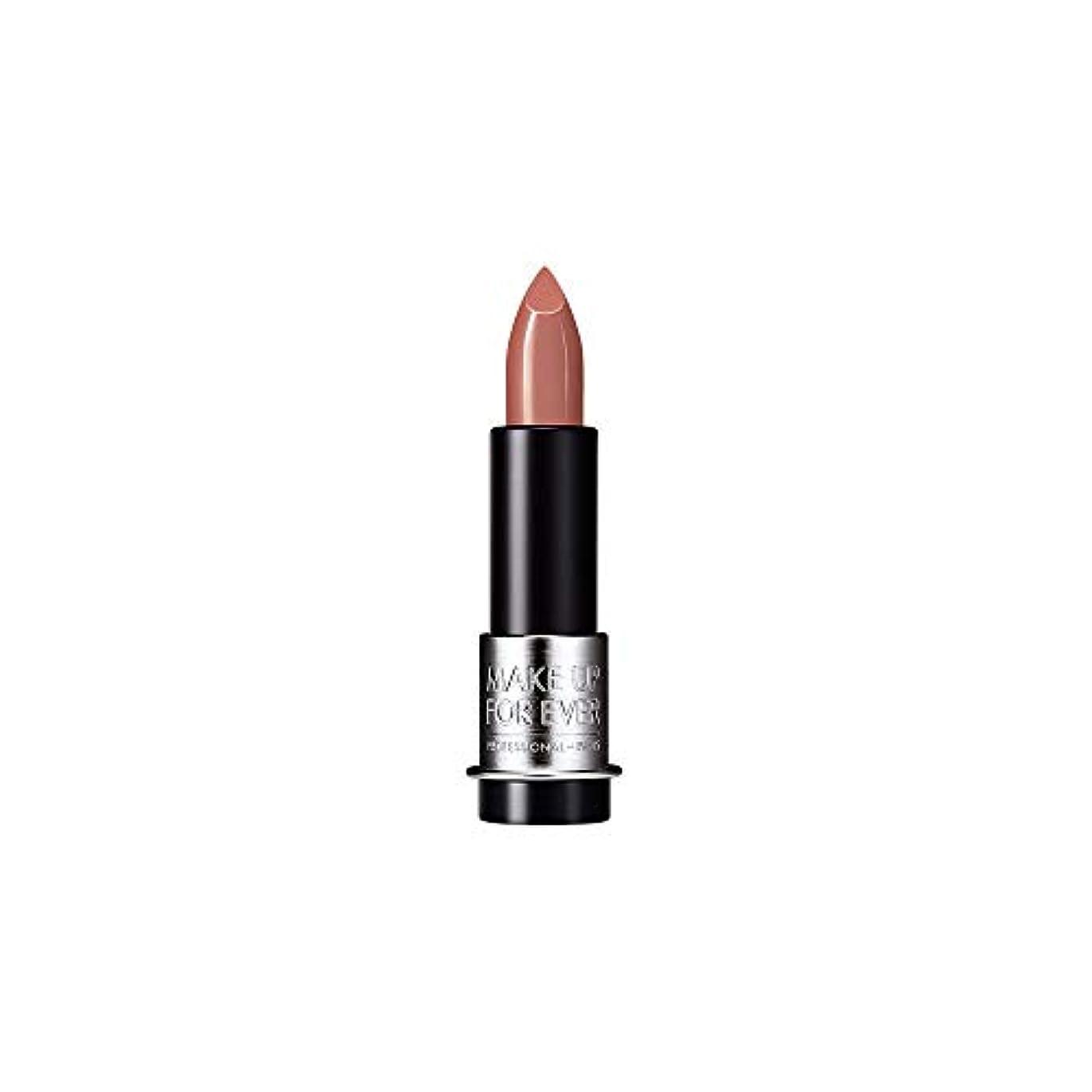 弱まる気を散らすグローバル[MAKE UP FOR EVER] モカベージュ - これまでアーティストルージュクリーム口紅3.5グラムのC107を補います - MAKE UP FOR EVER Artist Rouge Creme Lipstick...