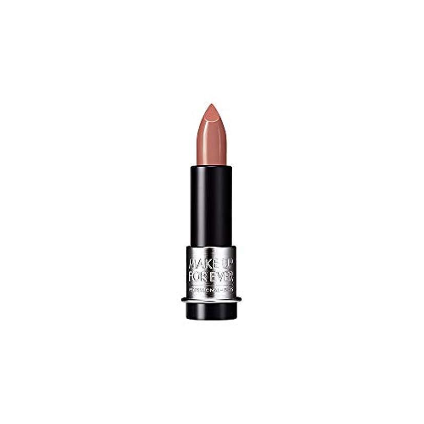 学校の先生風が強い傾斜[MAKE UP FOR EVER] モカベージュ - これまでアーティストルージュクリーム口紅3.5グラムのC107を補います - MAKE UP FOR EVER Artist Rouge Creme Lipstick 3.5g C107 - Mocha Beige [並行輸入品]