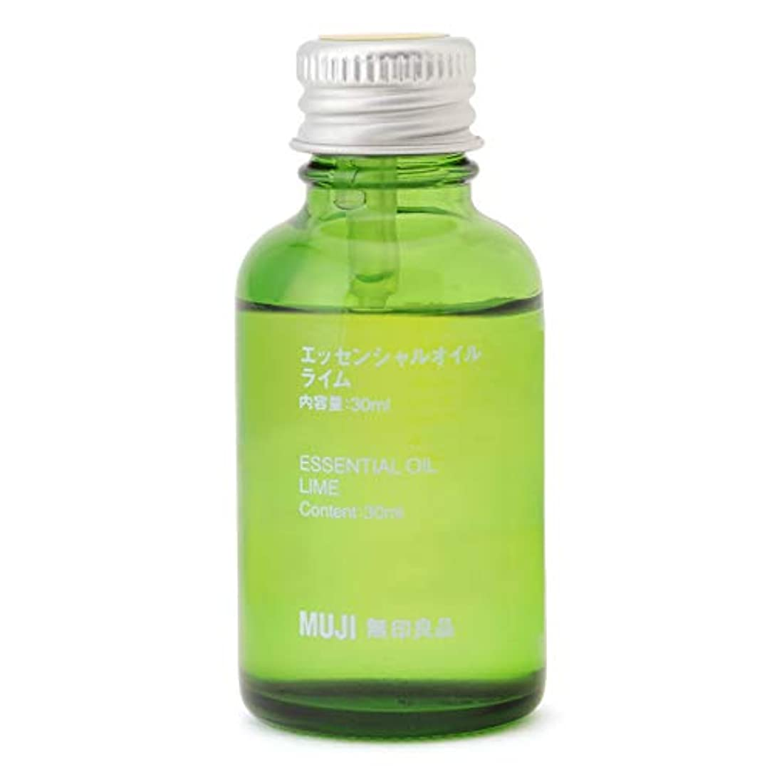 症状膿瘍グリーンバック【無印良品】エッセンシャルオイル30ml(ライム)