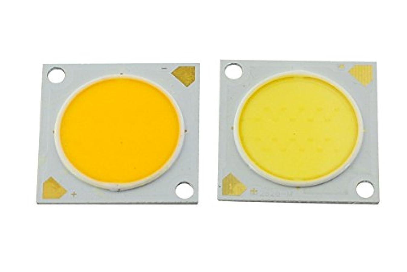 脚複雑な魔術(White) - Bsod 10W LED COB chip DC 30-33V 300mA Diameter23mm led lamp beads White high CRI surface LED light source...