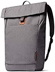 """Bellroy Studio Backpack, Everyday Bag, Water-Resistant Fabric, Magnetic Clasp Flap Closure (18 liters, 15"""""""