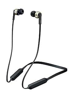 JVC HA-FX87BN-N ワイヤレスノイズキャンセリングイヤホン Bluetooth対応/高音質/生活防水/マグネット内蔵/ソフトバンド採用 ゴールド