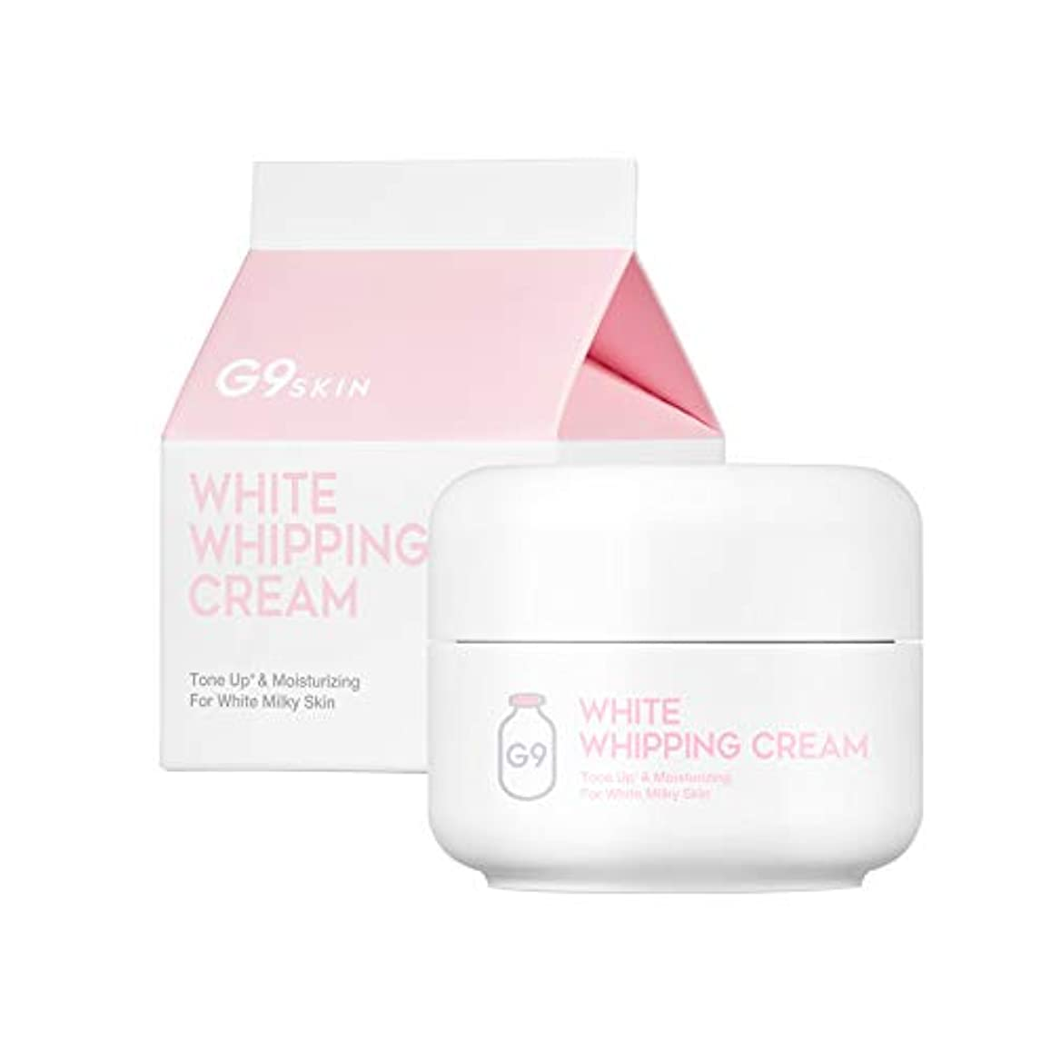 代表賞賛彼女は[ジナインスキン] G9SKIN ジーナイン スキン ホワイト フイッピング クリーム (G9 Skin White Whipping Cream) [海外直送品] [並行輸入品]