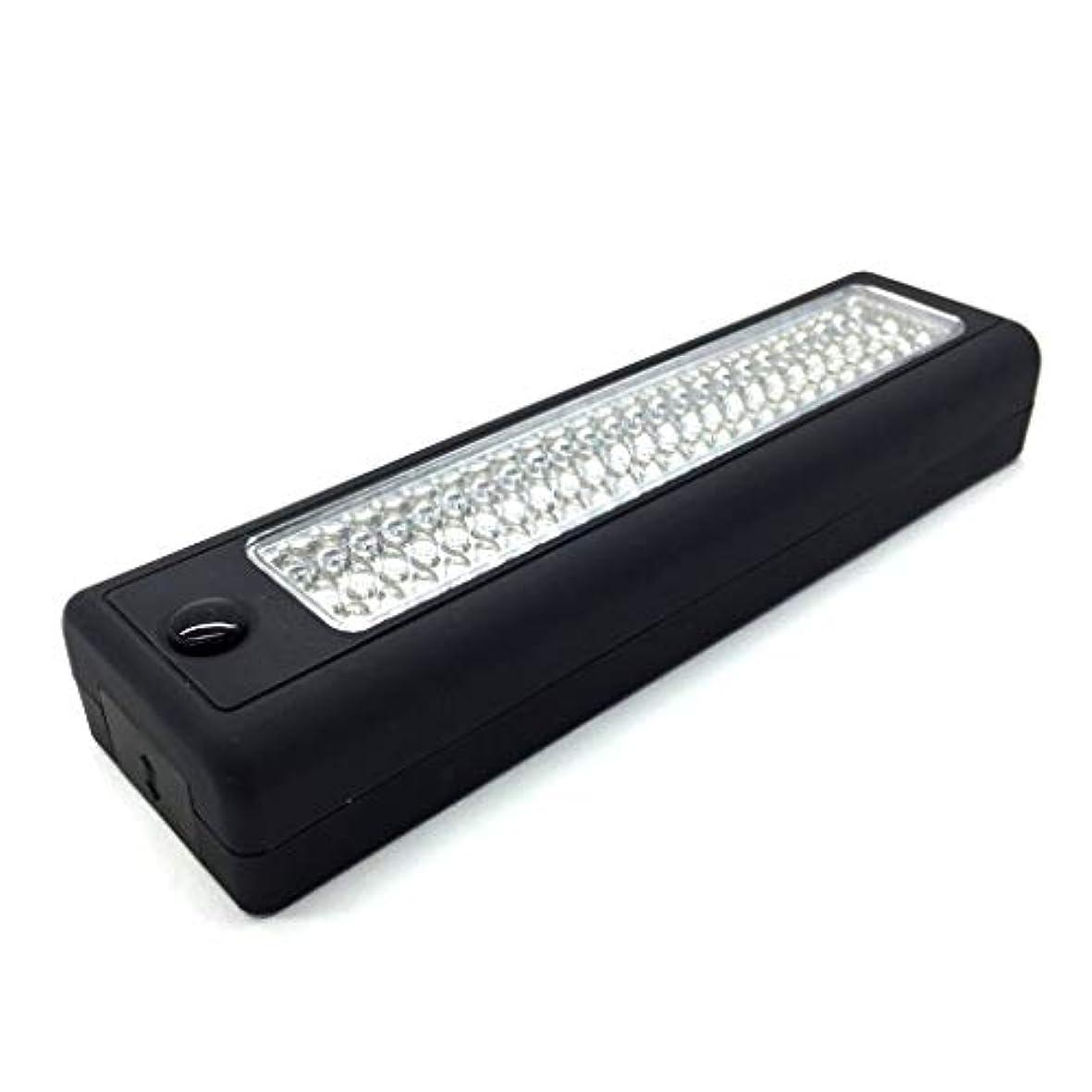 矛盾するむしろとは異なりLEDワークライト 点灯 キャンプや作業に最適 LEDライト フック ボディカラー 黒  LEDワークライト LED ライト懐中電灯 大光量 作業灯 ワークライト led 強 ライトバー ランタン