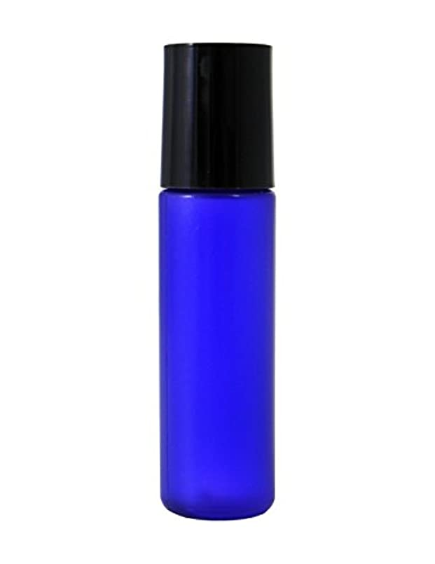 疫病自分の力ですべてをするジェムミニボトル容器 10ml コバルト (100個セット) 【化粧品容器】