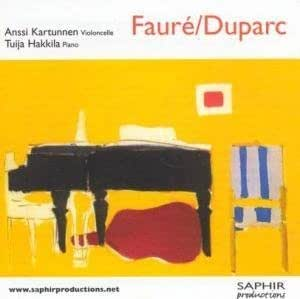 Faure/Duparc: Sonatas