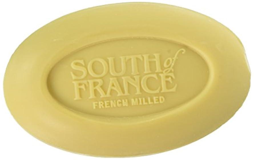 ちなみに銃地上のSouth of France - フランスの製粉された野菜棒石鹸レモンVerbena - 6ポンド
