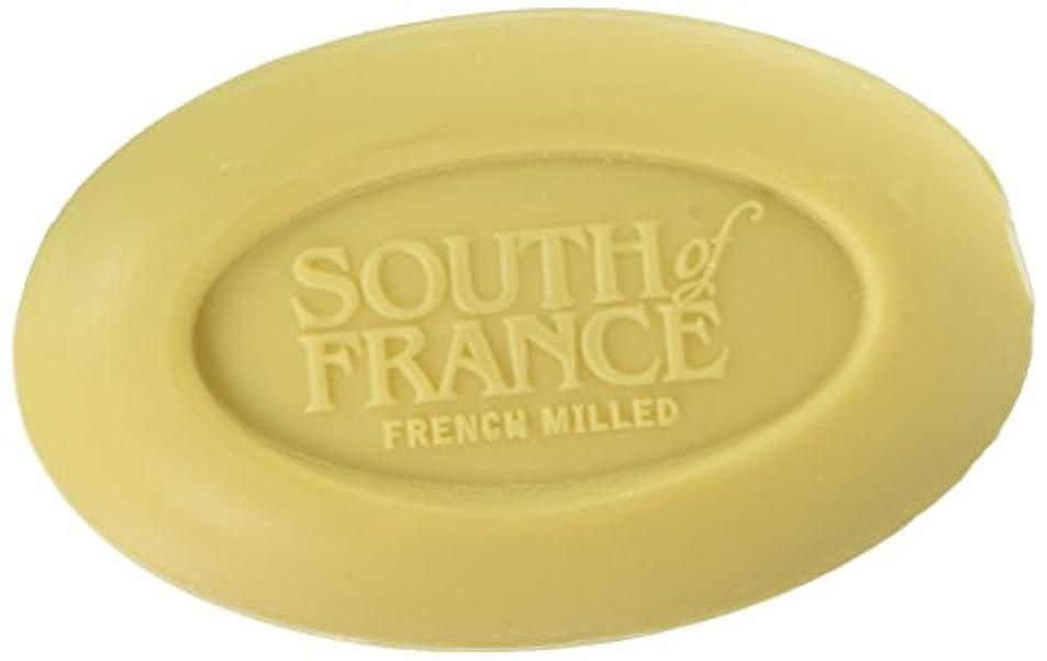 市町村入場料厳密にSouth of France - フランスの製粉された野菜棒石鹸レモンVerbena - 6ポンド
