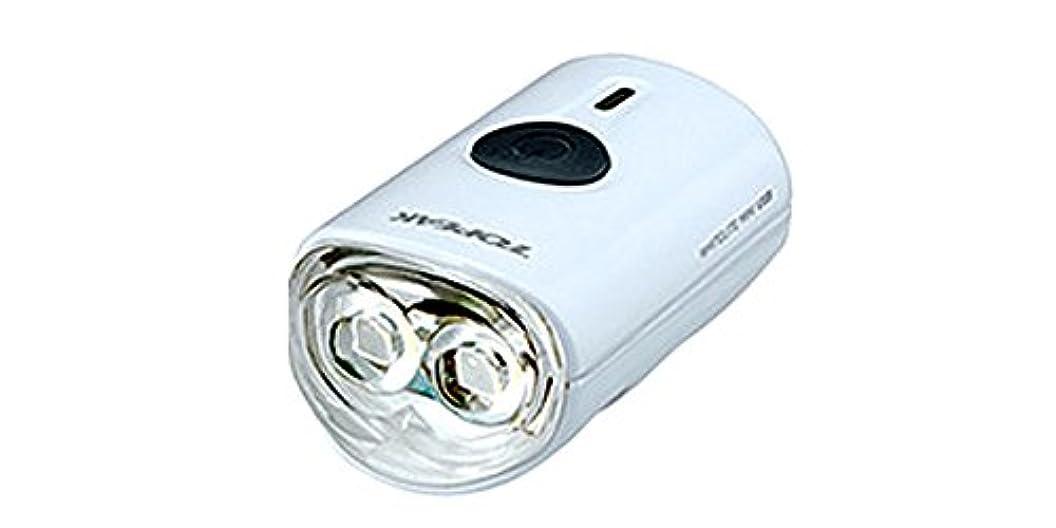 おめでとう報酬繁栄トピーク ホワイトライト ミニ USB ヘッドライト USB充電 ホワイト(LPF15301)