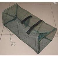 爆釣 魚捕り 網かご 【3個セット】餌を入れて鎮めるだけで簡単に魚が捕れる 漁具