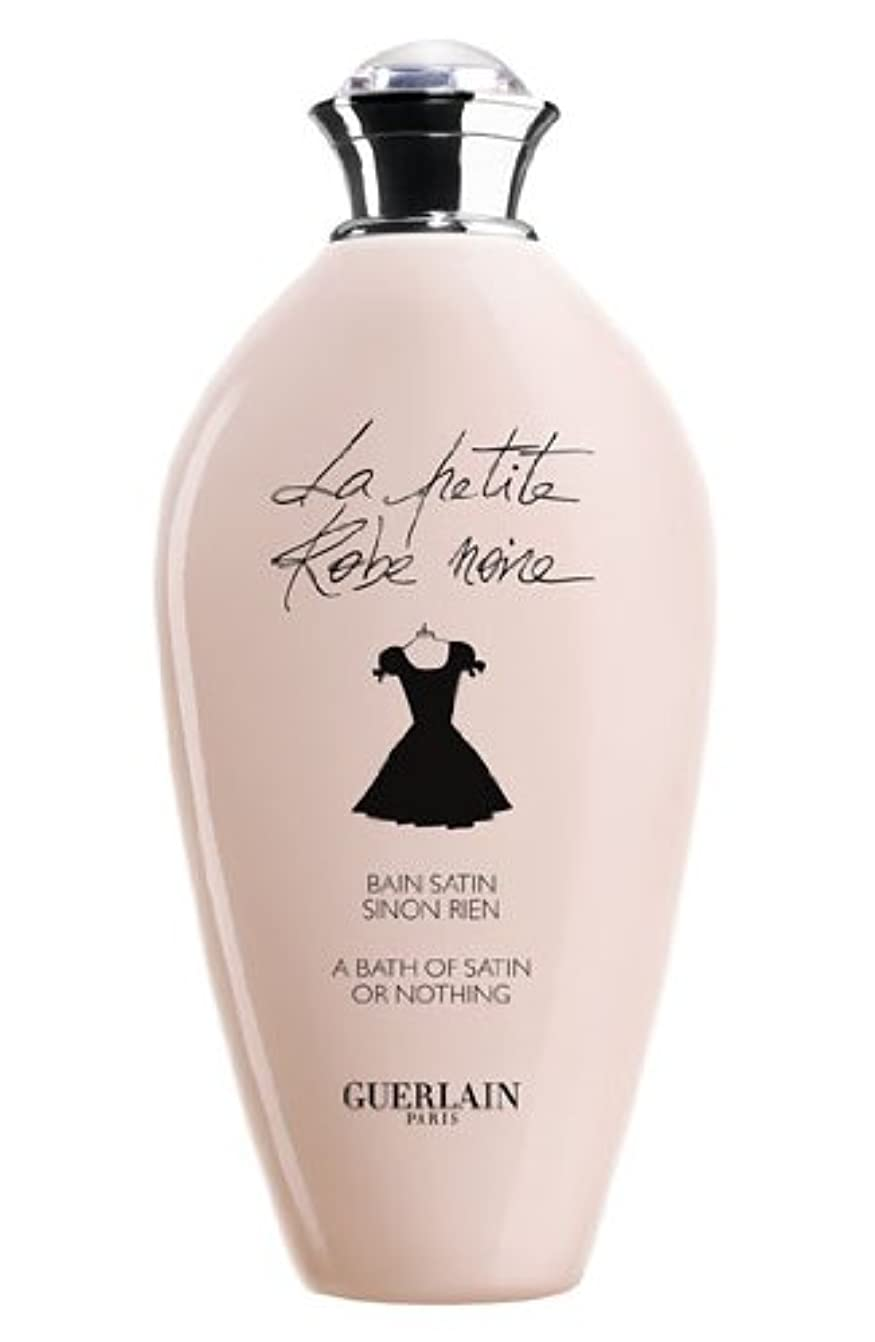 トーナメント患者従事するLa Petite Robe Noire (ラ プティ ローブ ノアー) 6.7 oz (200ml) Bath Gel by Guerlain for Women