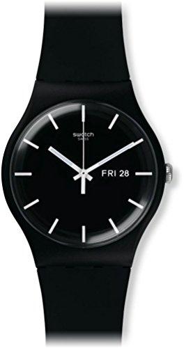 [スウォッチ]SWATCH 腕時計 NEW GENT(ニュージェント) MONO BLACK SUOB720 メンズ 【正規輸入品】