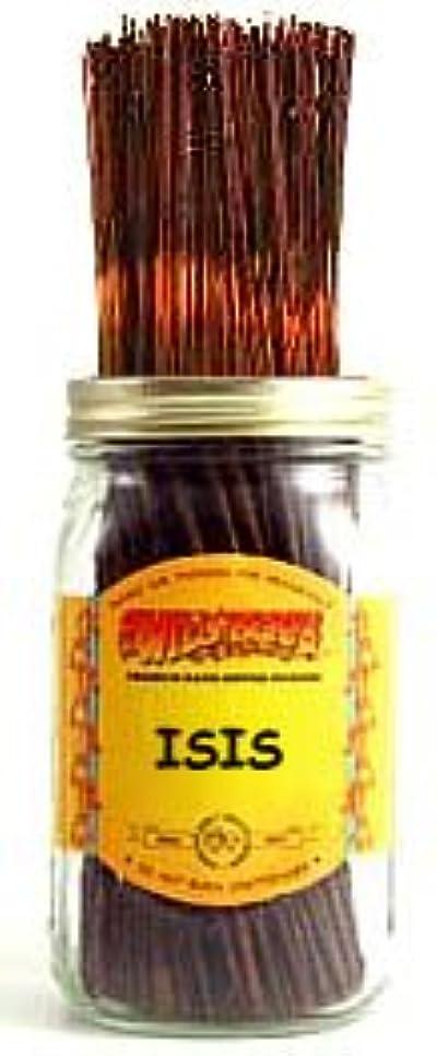 静かにお互い万歳Isis - 100 Wildberry Incense Sticks by Wild Berry
