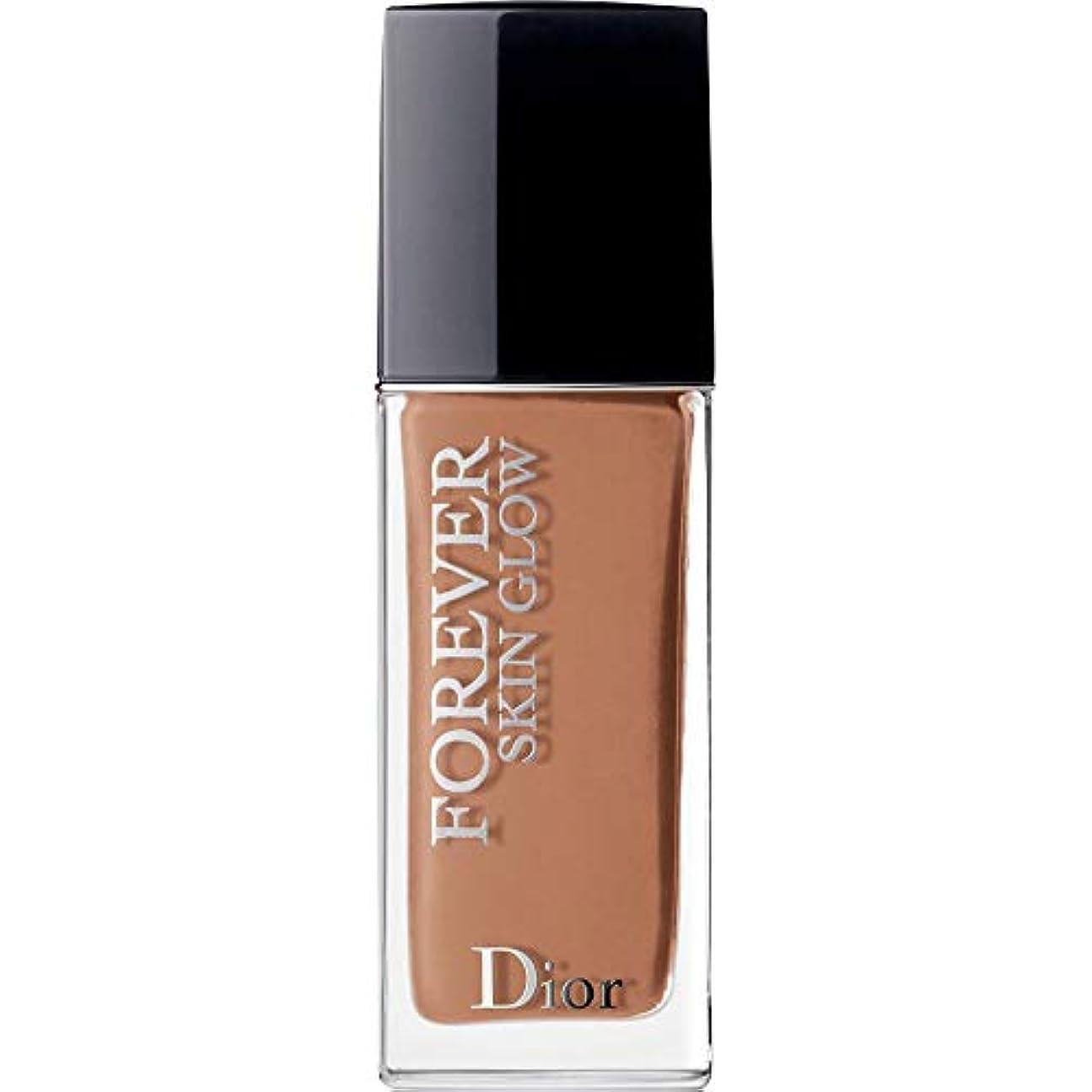 ブラウン関係ない生じる[DIOR] ディオール永遠に皮膚グロー皮膚思いやりの基礎Spf35 30ミリリットルの5N - ニュートラル(肌の輝き) - DIOR Forever Skin Glow Skin-Caring Foundation...