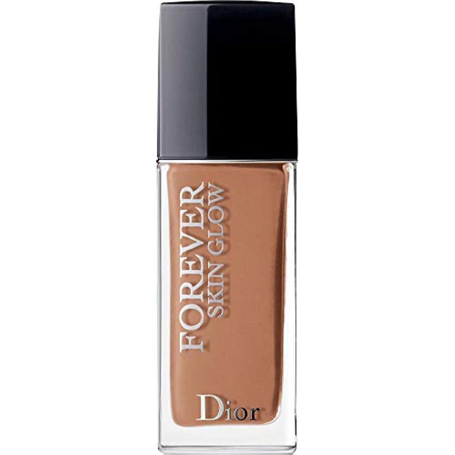 役割明確ににもかかわらず[DIOR] ディオール永遠に皮膚グロー皮膚思いやりの基礎Spf35 30ミリリットルの5N - ニュートラル(肌の輝き) - DIOR Forever Skin Glow Skin-Caring Foundation...