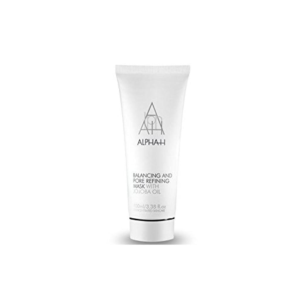 晩ごはん中央成長するAlpha-H Balancing & Pore Refining Mask (100ml) (Pack of 6) - アルファ-バランシング&ポアリファイニングマスク(100)に x6 [並行輸入品]