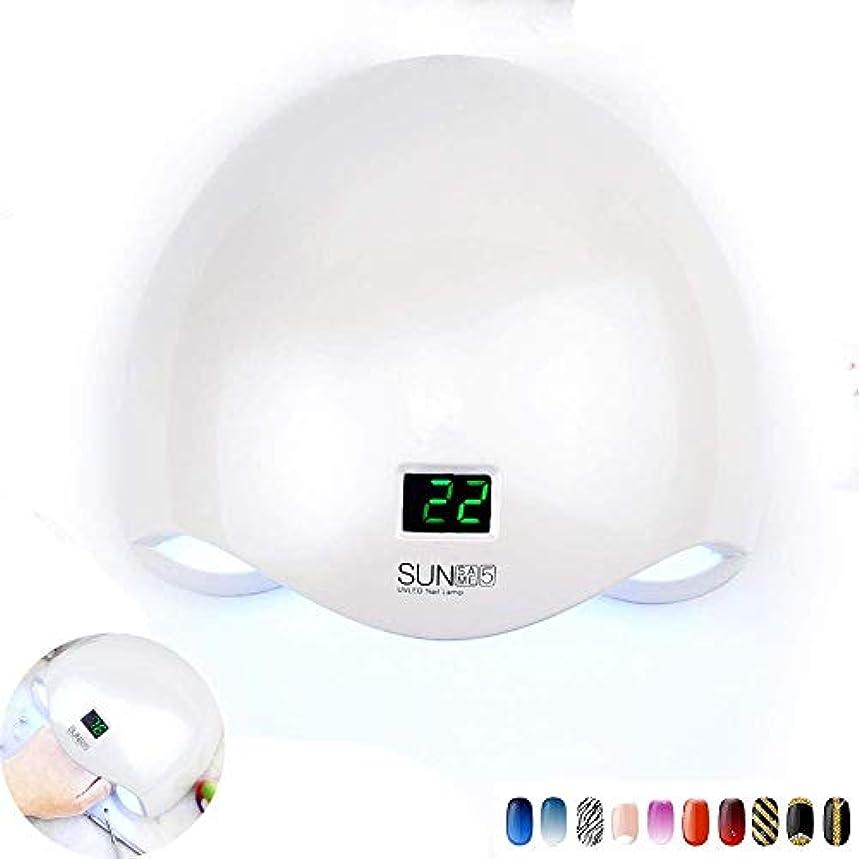 フリンジ強盗個性UV LED 48ワットネイルライトドライヤーネイルランプ付きバッテリー24 ledネイルジェルポリッシュポリッシャーマニキュア機でタイマーボタン、充電モデル