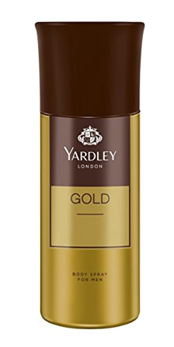 療法いいね霜Yardley London Gold Body Spray For Men, 150ml