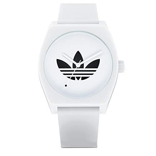 Adidas Watches (アディダス ウォッチ) 防水 アナログ ウォッチ (日本正規商品)[ Z10-3260 / Process_SP1 ] シリコン 腕時計 日本製ムーブメント 3260_Trefoil / White