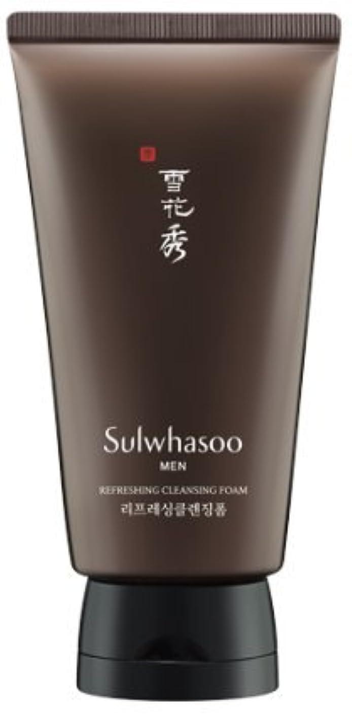 スペアハンドブック奨励[Sulwhasoo] 雪花秀 for man Refreshing クレンジングフォーム / Refreshing Cleansing Foam 150ml [並行輸入品]