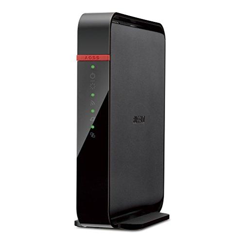 BUFFALO【iphone6 対応】11ac/n/a/b/g 無線LAN親機(Wi-Fiルーター)エアステーション QRsetup ハイパワー 866+300Mbps WHR-1166DHP (利用推奨環境3人・3LDK・2階建て)