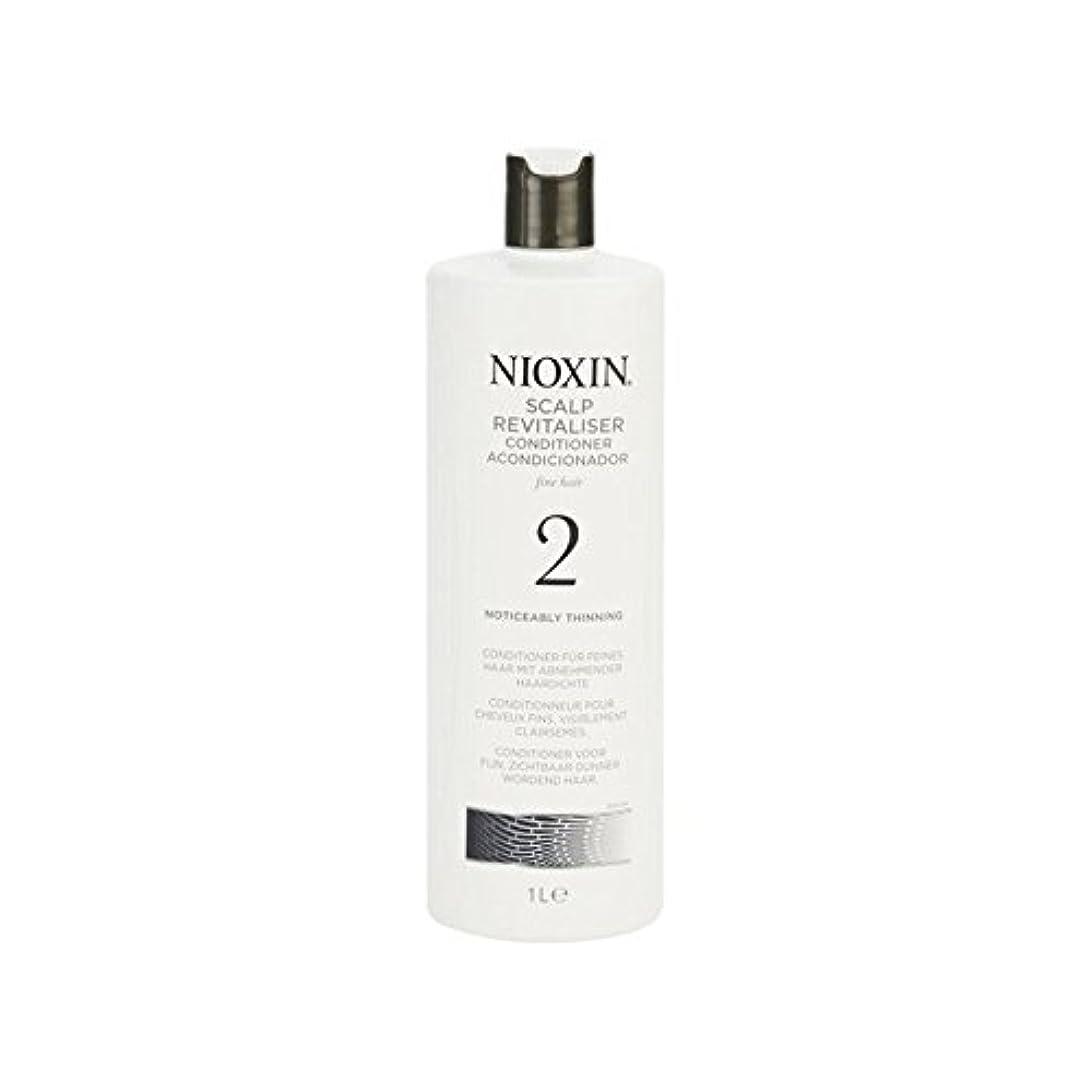 忠誠どのくらいの頻度で保存するNioxin System 2 Scalp Revitaliser Conditioner For Noticeably Thinning Natural Hair 1000ml - 著しく間伐自然な髪千ミリリットルのための...