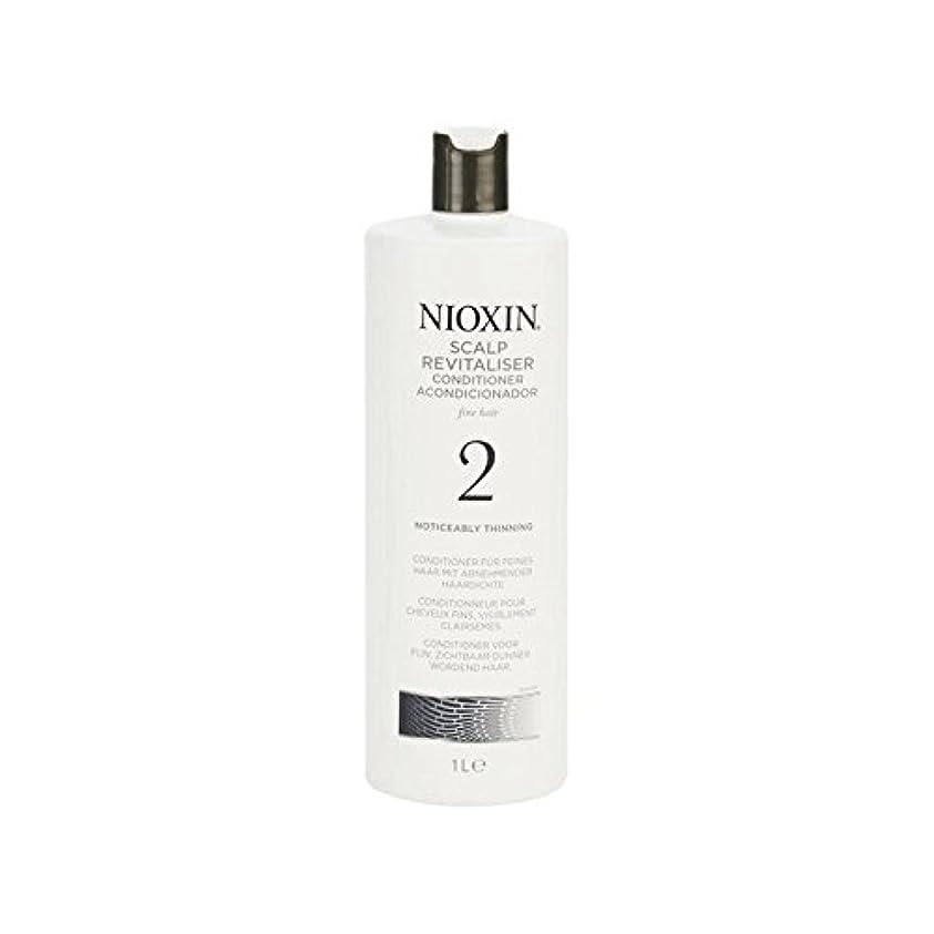 で白菜債権者Nioxin System 2 Scalp Revitaliser Conditioner For Noticeably Thinning Natural Hair 1000ml (Pack of 6) - 著しく間伐自然...