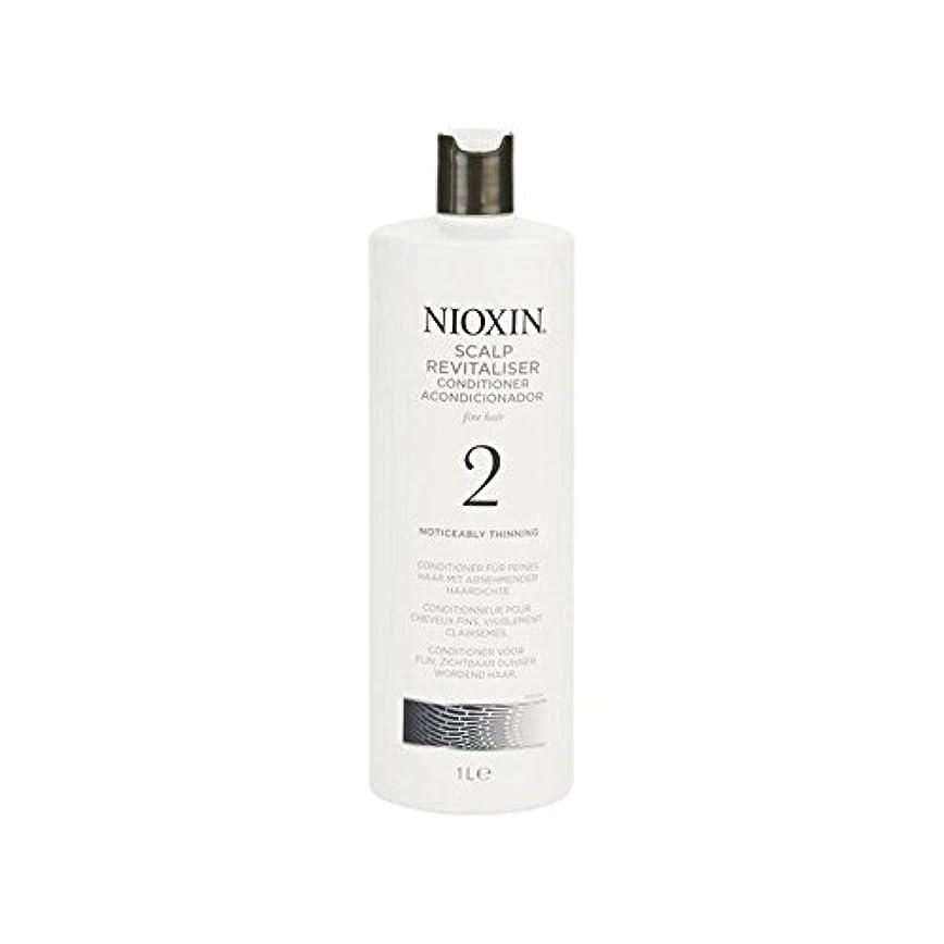 呼び出す遅れスクリューNioxin System 2 Scalp Revitaliser Conditioner For Noticeably Thinning Natural Hair 1000ml (Pack of 6) - 著しく間伐自然な髪千ミリリットルのためのニオキシンシステム2頭皮コンディショナー x6 [並行輸入品]