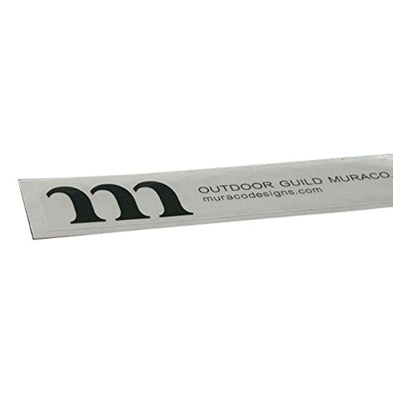 学校規模測定(ムラコ) MURACO outdoor guild muraco Sticker A003