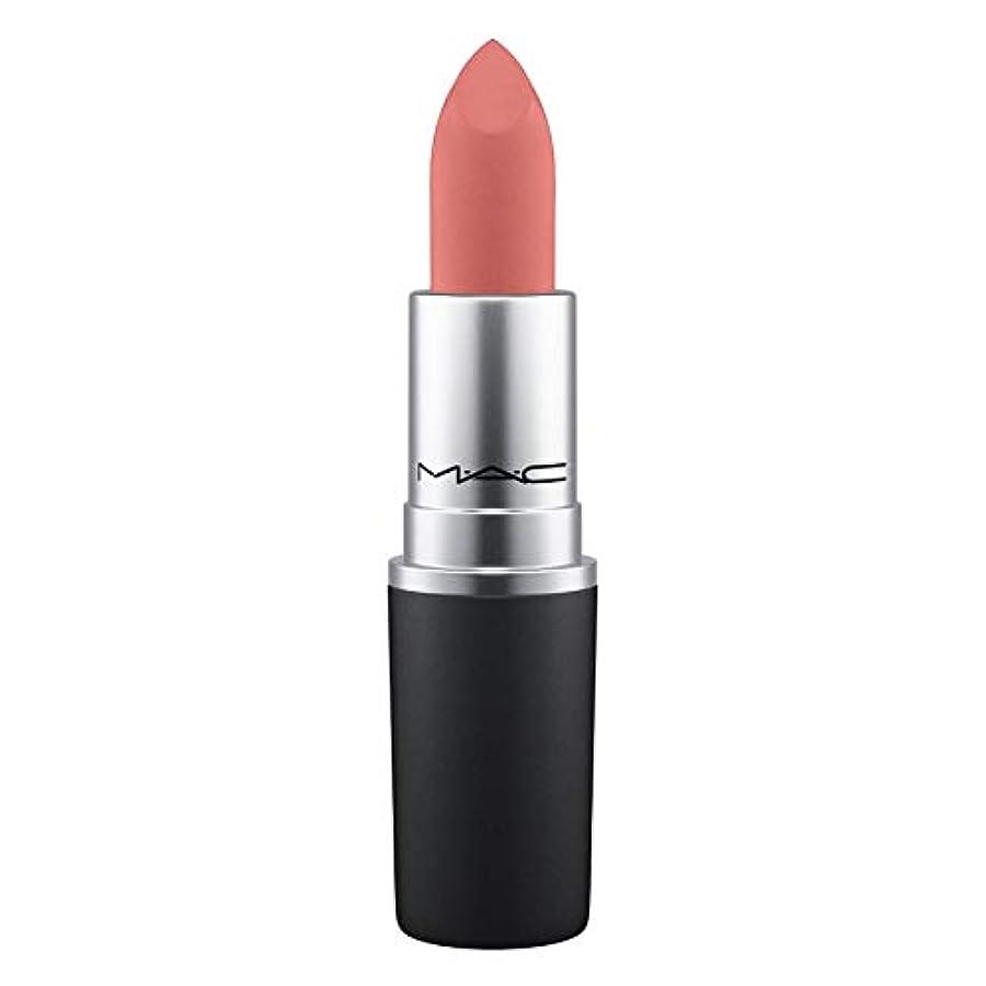 枯れるやけどピンクMAC Powder Kiss Lipstick Mull It Over (dirty peach)