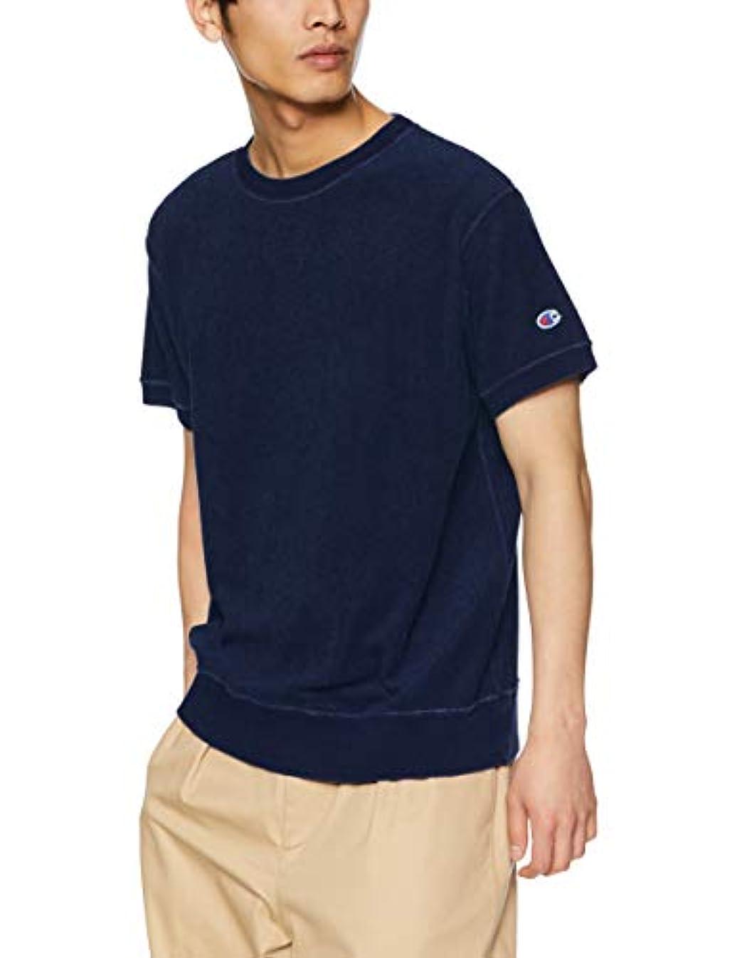 魅惑する小学生穀物[チャンピオン] ショートスリーブクルーネックスウェットシャツ C3-P346 メンズ