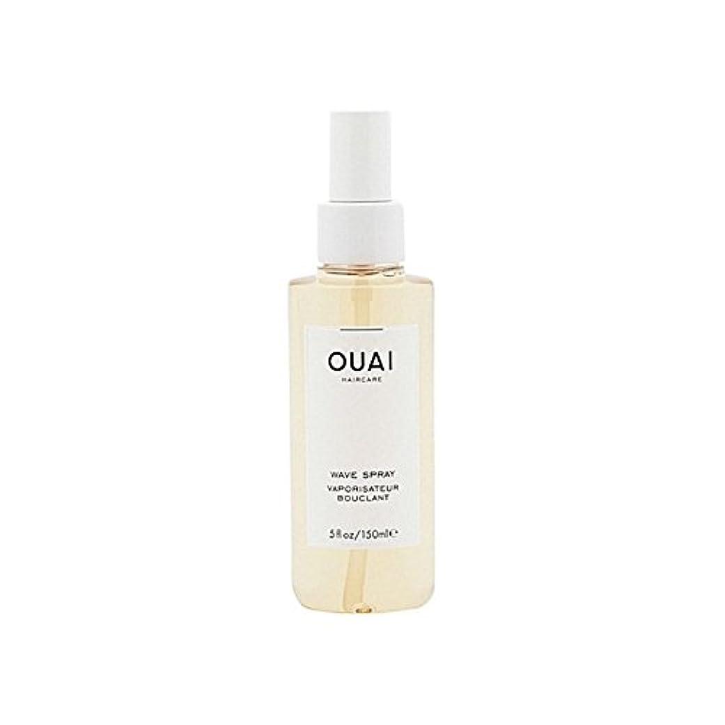 胸事業内容習慣Ouai Wave Spray 148ml - 波スプレー148ミリリットル [並行輸入品]