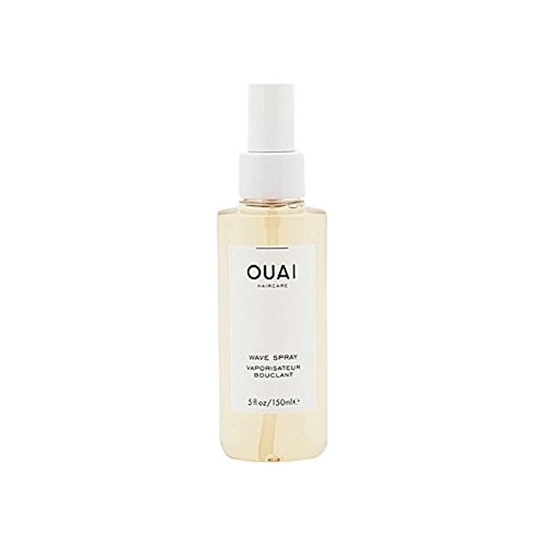普及全能奨励Ouai Wave Spray 148ml - 波スプレー148ミリリットル [並行輸入品]