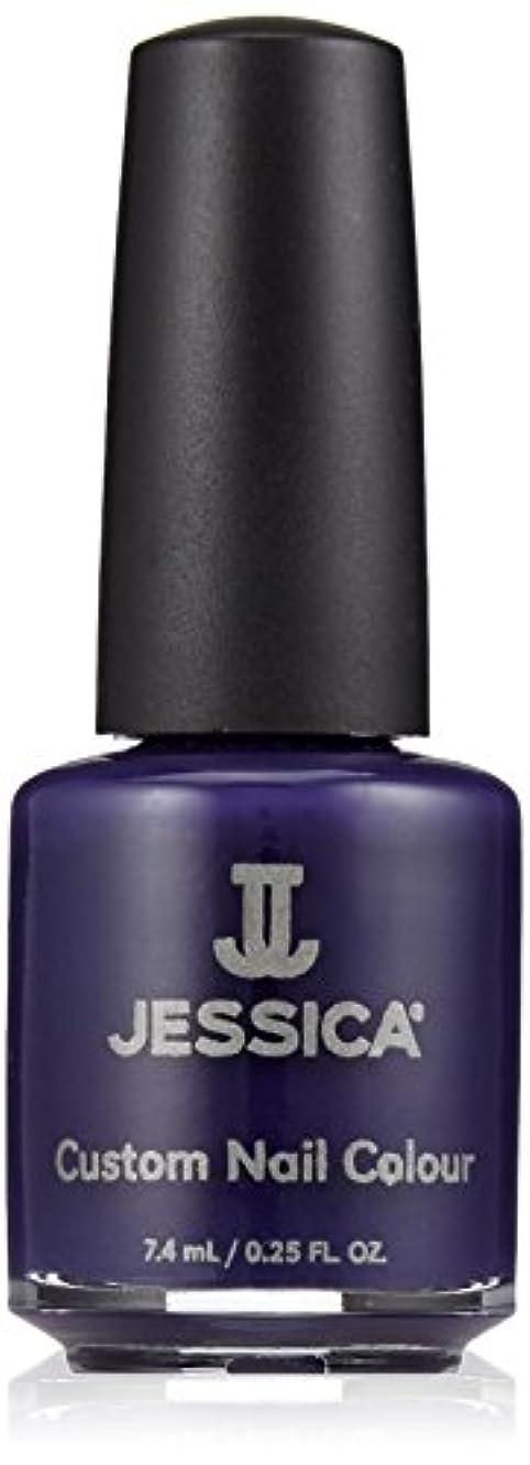 イソギンチャク完全に鉛Jessica Nail Lacquer - Blue Harlem - 15ml / 0.5oz