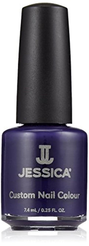 葉巻裁定アクセントJessica Nail Lacquer - Blue Harlem - 15ml / 0.5oz