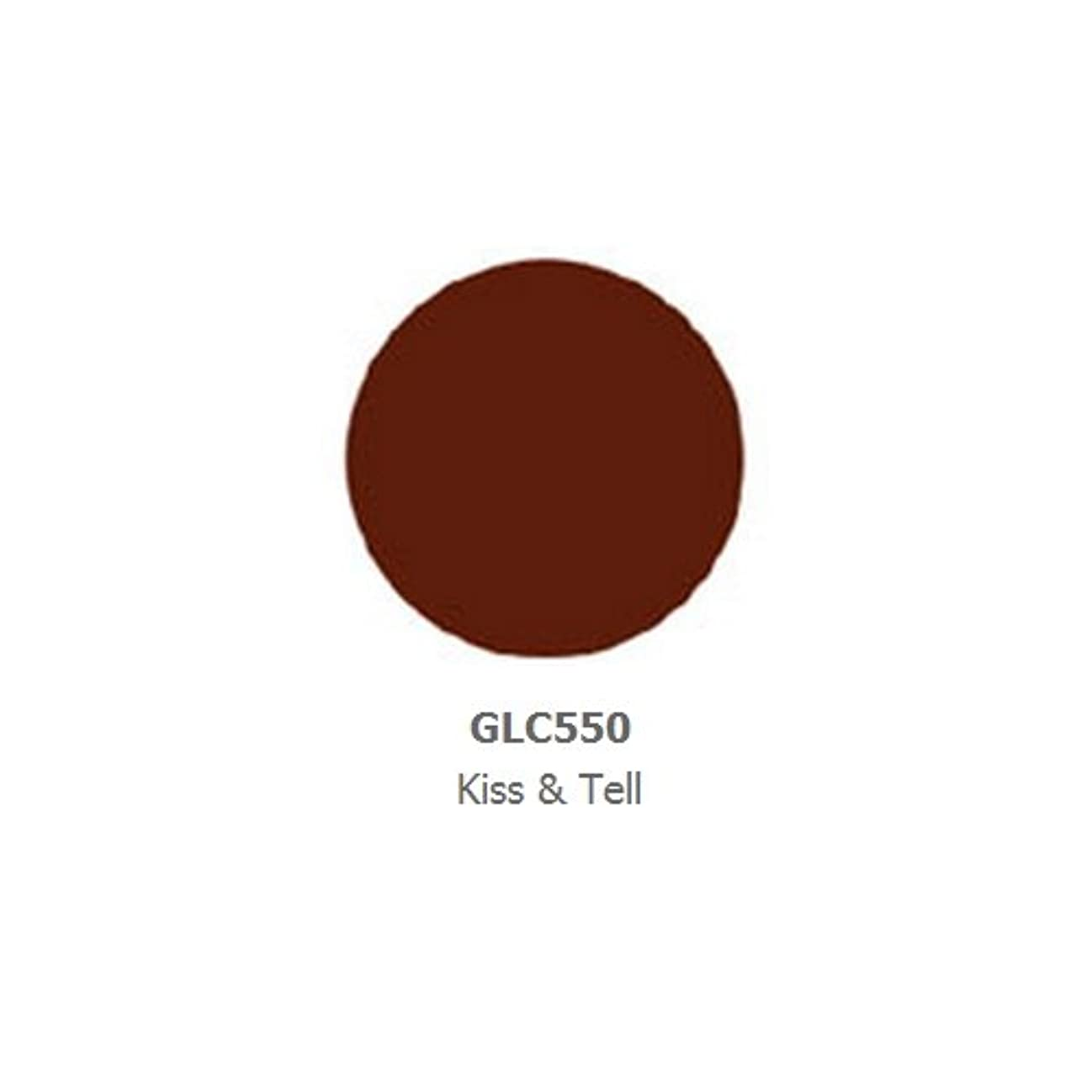 シンプルな飢どちらもLA GIRL Luxury Creme Lip Color - Kiss & Tell (並行輸入品)