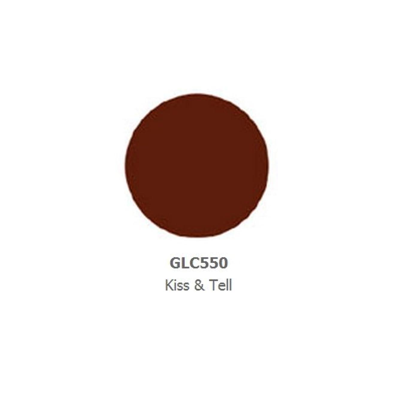 黙認するポッププリーツLA GIRL Luxury Creme Lip Color - Kiss & Tell (並行輸入品)