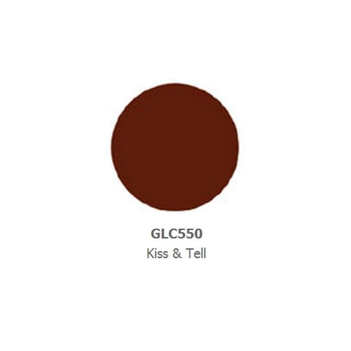 温度スリンク四面体LA GIRL Luxury Creme Lip Color - Kiss & Tell (並行輸入品)