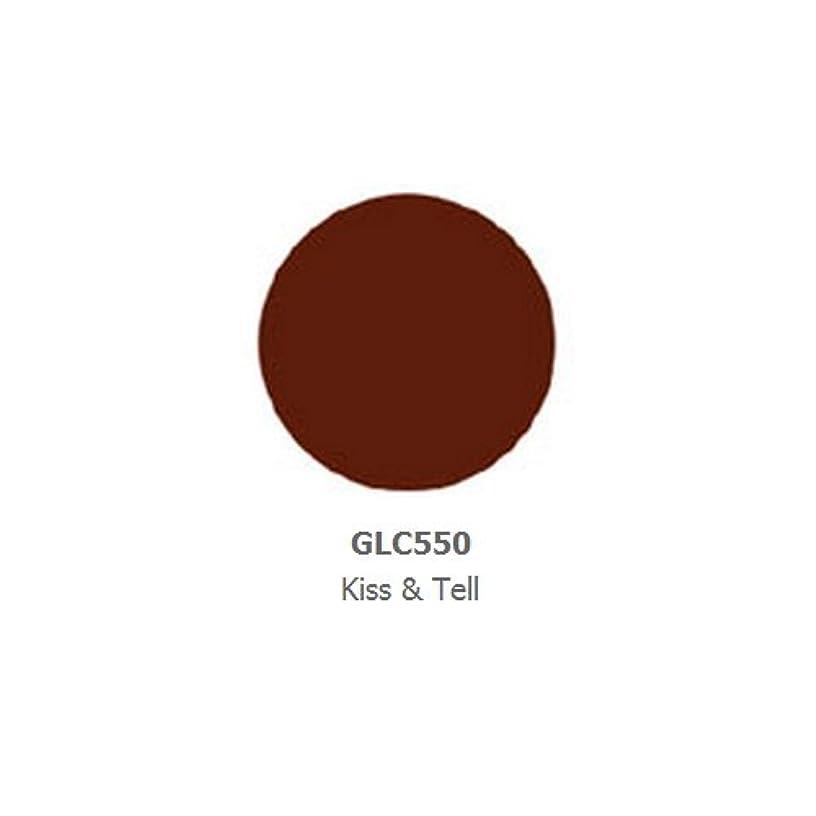不調和セクタ分泌するLA GIRL Luxury Creme Lip Color - Kiss & Tell (並行輸入品)